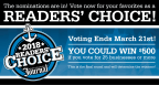 2018 Providence Journal Readers' Choice Awards - Voting