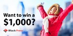 Enter to Win a $1,000 Visa Gift Card!