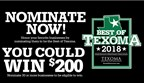 Best of Texoma 2018 - nominations