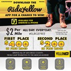Enter to win free rides from Yellow Cab!