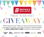 Treat Your Feet - Brown's Shoe
