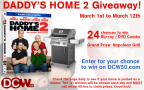 'Daddy's Home 2' Blu-Ray Combo Pack & Napoleon Grill