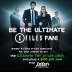 JORDANS FURNITURE ULITMATE X-FILES FAN CONTEST