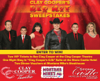 Clay Cooper's Red Hot Sweepstakes 2018