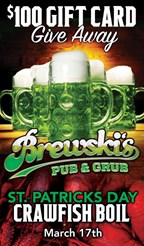 Brewski's St. Patty's Day Crawfish Boil