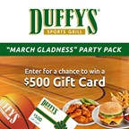WFTV 2018 Duffy's Sports Grill March Gladness Sweepstakes