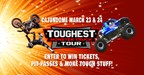 The 2018 Toughest Monster Truck Tour Giveaway