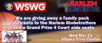 2018 Harlem Globetrotters Ticket Giveaway