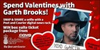 Grand Prize package to see Garth Brooks!