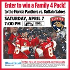 MH - FLORIDA PANTHERS 4/07/18 Giveaway