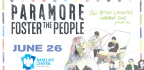 WIN TICKETS TO SEE PARAMORE WITH FOSTER THE PEOPLE!
