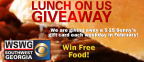 WSWG's Lunch on Us Giveaway 2016