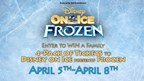 Enter to WIN a Family-4 Pack of Tickets to Disney on Ice presents Frozen!
