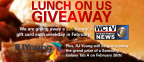 RJ Young Lunch on Us Giveaway 2016