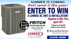 Fritch Heating and Cooling A/C Sweepstakes