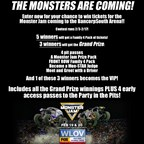 Monster Jam Facebook Contest