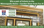Home & Garden Show Ticket Giveaway