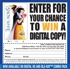 Enter to Win the DVD of Snow White