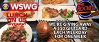 WSWG The Rocket Restaurant Lunch on Us Giveaway June 2018