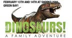 Dinosaurs! A Family Adventure Ticket Giveaway