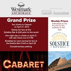 Westmark Anchorage Hotel's Cabaret Weekend Getaway Contest