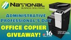 Administrative Assistant Day Office Copier Giveaway!
