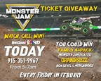 Monster Jam Ticket Giveaway