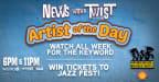 News with a Twist 2018 Jazz Fest Ticket Contest