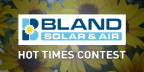 Bland Solar and Air Hot Times Contest