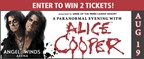 Enter to Win Alice Cooper Tickets