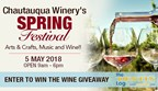 Chautauqua Winery Spring Festival Wine Giveaway