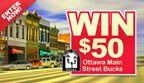Ottawa Main Street Sweepstakes