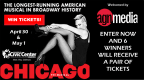 Broadway Spotlight Series Production of CHICAGO Ticket Giveaway
