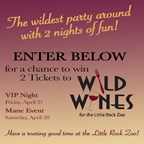 LR Zoo Wild Wines Ticket Giveaway