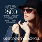 Win a $500 Geneva Commons Shopping Spree from the