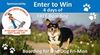 FREE Dog Boarding Giveaway