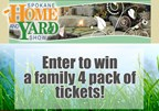 Spokane Home & Yard Show Giveaway
