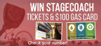 Check Your Number - Win tickets to Stagecoach & $100 Gas Card