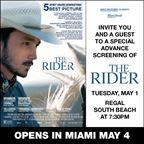 MH - THE RIDER Screening