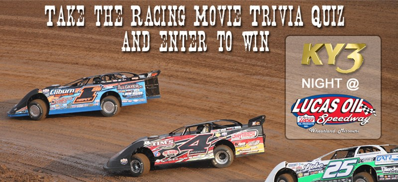 Lucas Oil KY3 Night Giveaway: Racing Movie Trivia