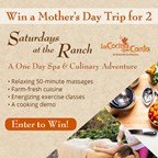 Win a Mother's Day Trip for 2 at Rancho La Puerta!