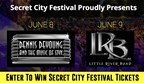 Secret City Festival Sweepstakes