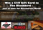 The Blackbird Tavern + Kitchen Giveaway