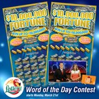 Lottery Word of the Day contest
