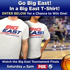 FOX 5 BIG EAST T-SHIRT GIVEAWAY