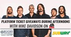 Foo Fighter Giveaway - Subway - 5/4