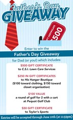 Father's Day Giveaway 2018