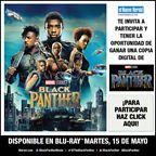 ENH - BLACK PANTHER DVD Giveaway