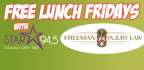 Free Lunch Friday Sweepstakes