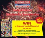 Fireworks Outlet's Independence Spectacular Sweepstakes